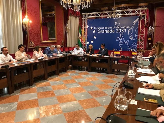 La comisión se ha reunido en el Ayuntamiento.