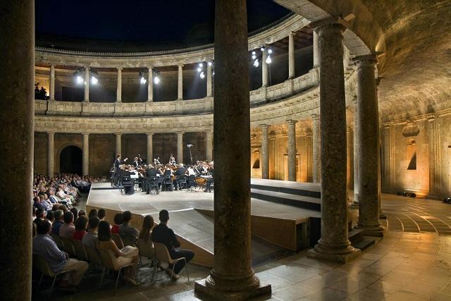 Concierto del Festival, en el Palacio de Carlos V.