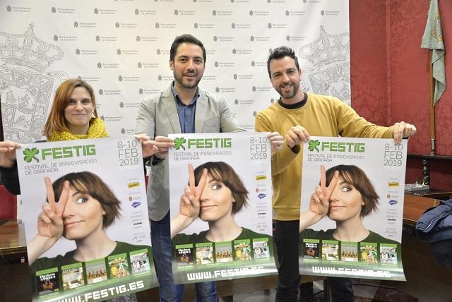 Presentación de 'Festing', que organiza La Tetera Impro.