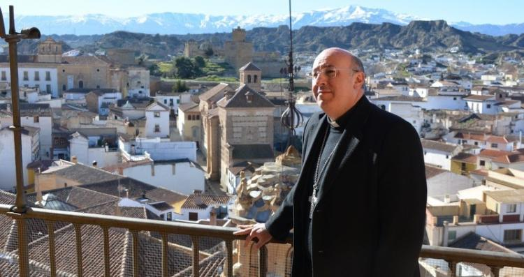 El obispo de Guadix, Francisco Jesús Orozco.