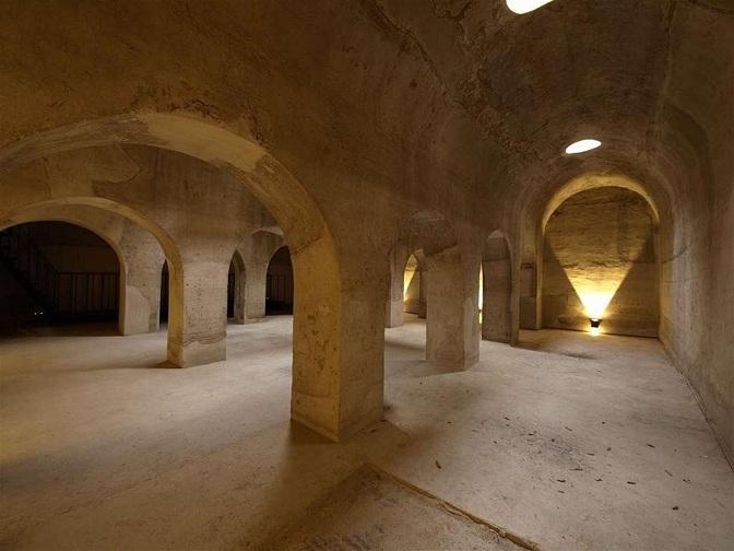 Interior del Aljibe del Rey.