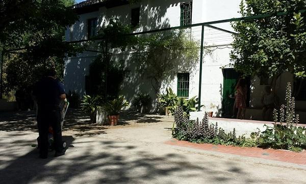 Exterior de la Casa-Museo Huerta de San Vicente.