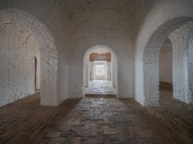 Interior de la Torre de la Vela.