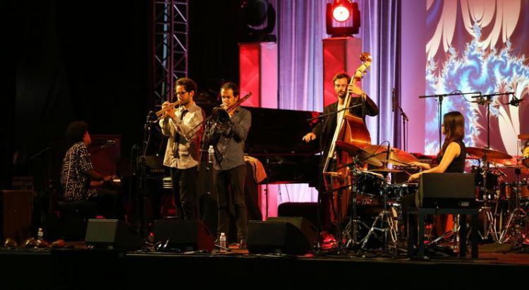 Actuación en una edición anterior del festival.