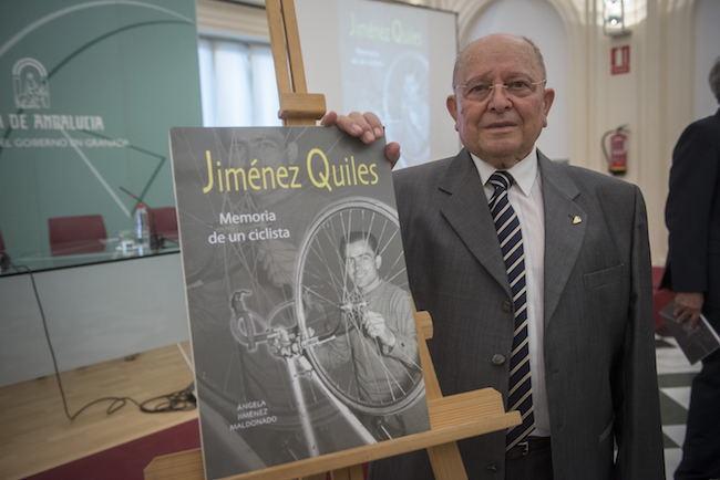 Jiménez Quiles, merecido homenaje en 'La memoria de un ciclista'