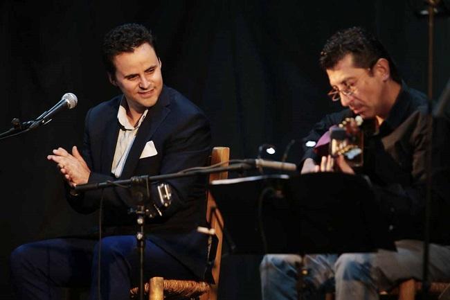 Juan Pinilla en una actuación.