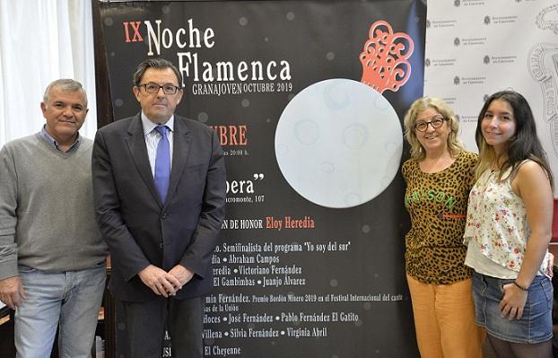 Presentación de la noche flamenca Granajoven.