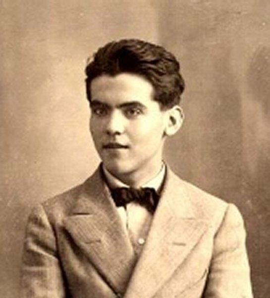 Federico García Lorca, en 1914.