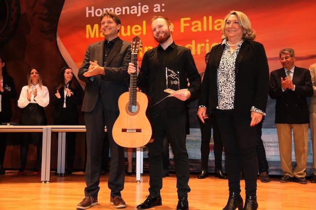 """Marko Topchii (Kiev, 1991) gana el XXXV Certamen Internacional de Guitarra Clásica """"Andrés Segovia""""."""