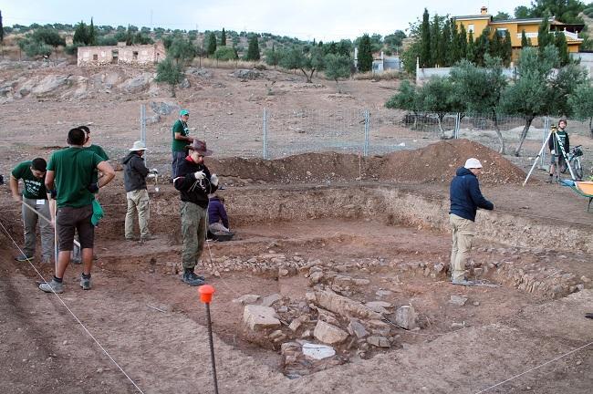 Excavación en Medina Elvira.