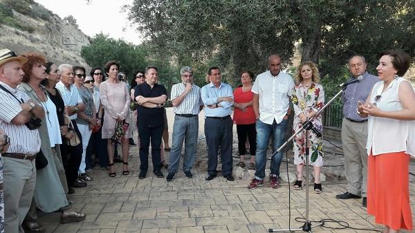 Acto celebrado en Melegís.