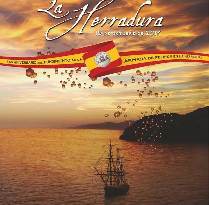 Cartel del 455º aniversario del naufragio.