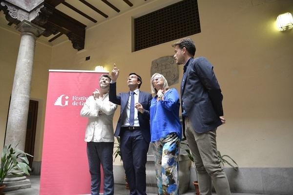 Francisco Cuenca y Pablo Heras-Casado con María de Leyva y Guillermo Quero.