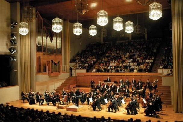 Concierto de la OCG en el Auditorio Manuel de Falla.