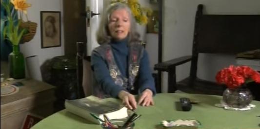 Marta Osorio en el documental 'La maleta de Penón' en Documentos TV.