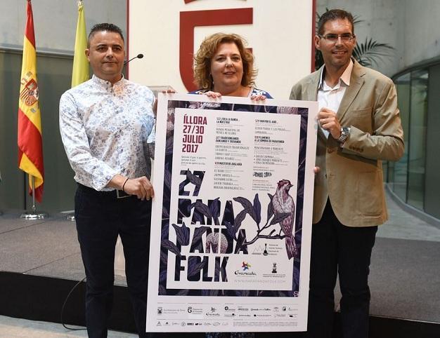 Presentación del Parapanda Folk.