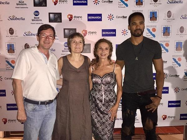 Barrachina con Serna, Abril y Shepard.