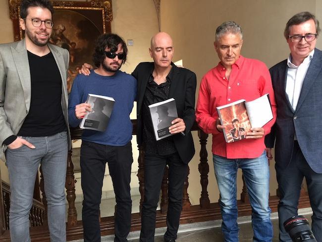 Pedro Collado, David Montañés, Antonio Arias, Ángel Arias y Ricardo Anguita.