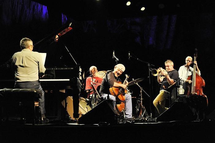 Concierto de Chano Domínguez y la Devil Band de Paolo Fresu.