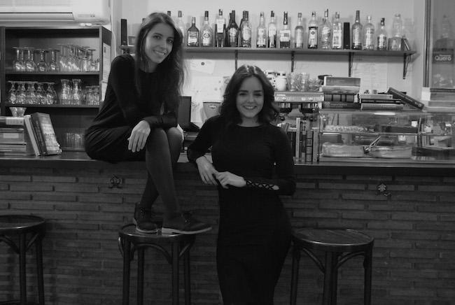 Sara Rodríguez Fernández y María Pérez Cordero, propietarias de La Qarmita.