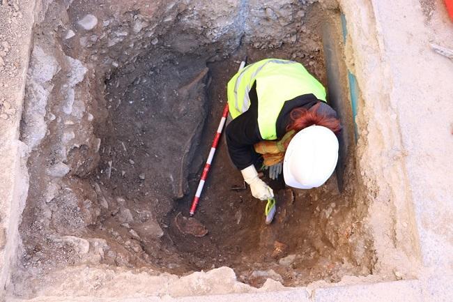Lugar en el que se han encontrado los restos.