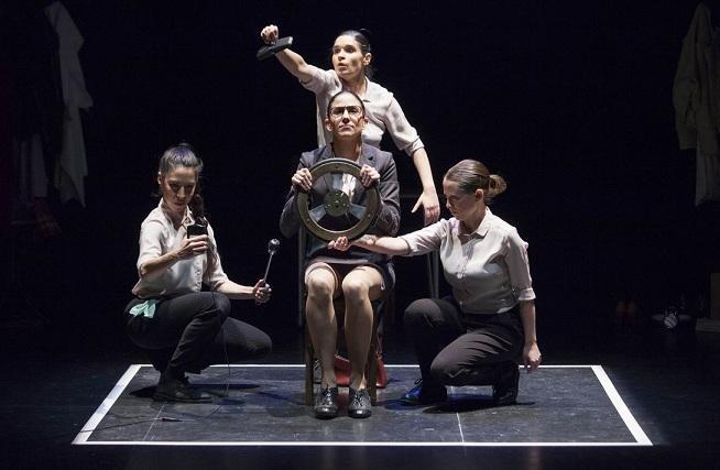 Teatro en Vilo con su obra 'Interrupted'.