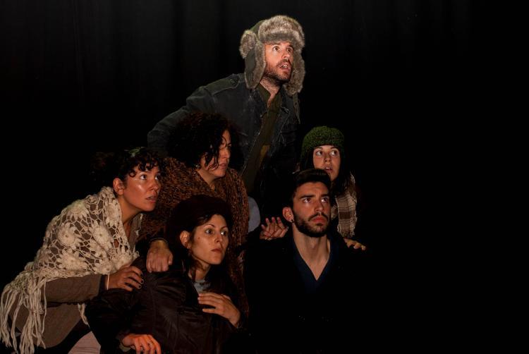 Representación de 'Paisaje tras la batalla' por Comotelocuento Teatro.