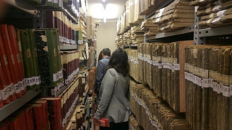 Los concejales de Ciudadanos han visitado los archivos.