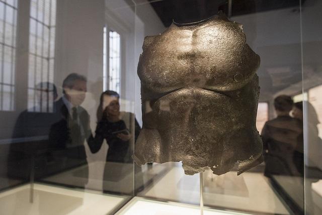 Una de las piezas expuestas en la reapertura del Museo.