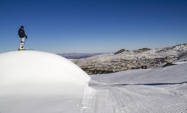 La estación ofrece 44 kilómetros esquiables, la mayor superficie de la temporada.