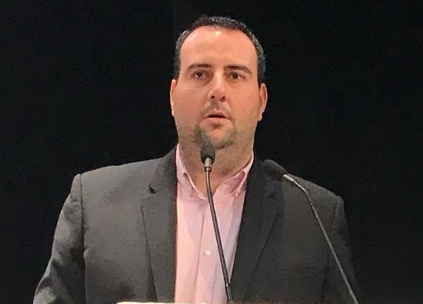 Álex Casares, secretario de Organización del PSOE de Granada.