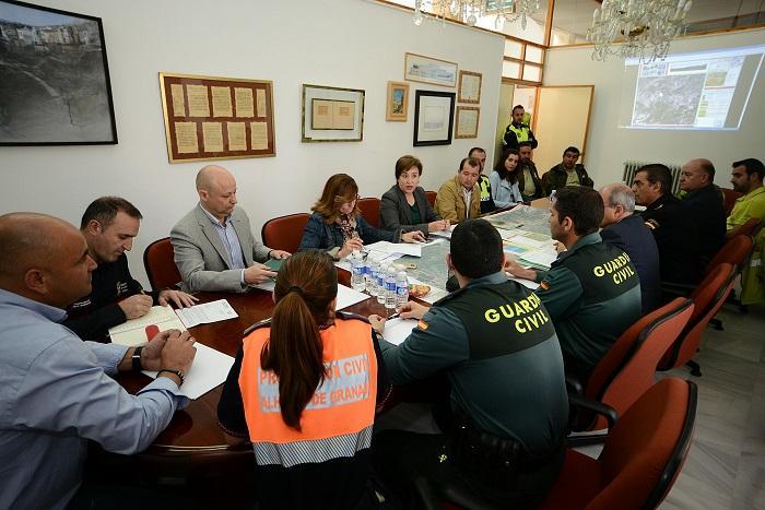 Sandra García detalla el estudio de prevención de incendios en zona urbana y forestal en el municipio de Alhama.