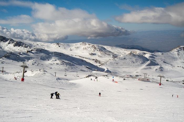 Imagen de la Sierra en plena temporada.