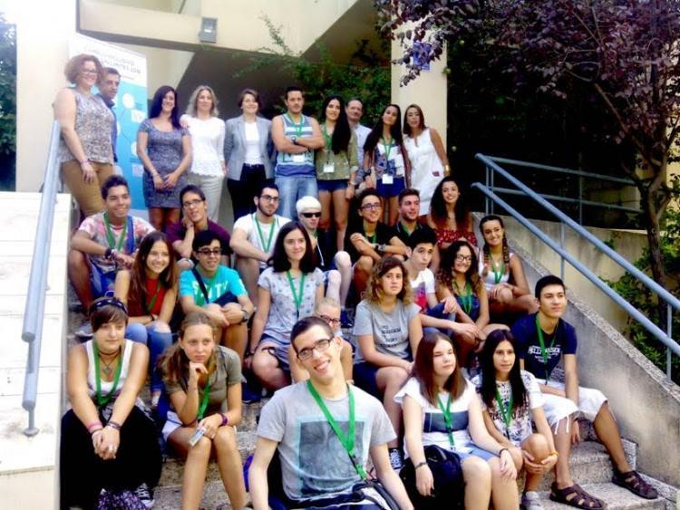 Participantes en el Campus Inclusivo.