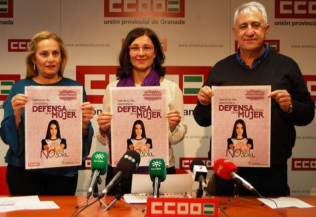 Presentación del servicio de defensa legal para mujeres.