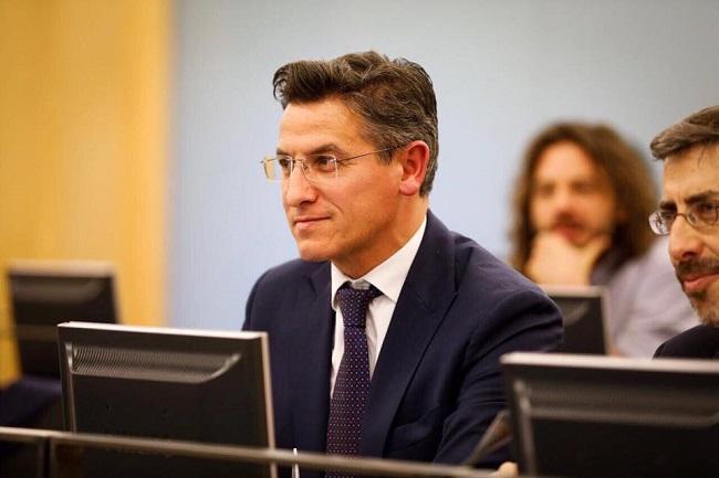 Luis Salvador, diputado de Cs.