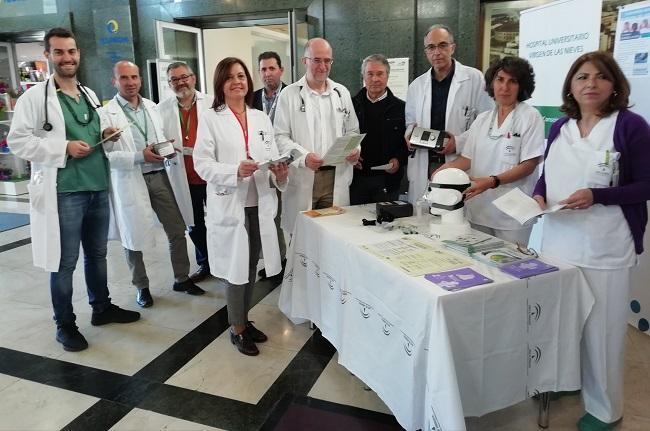 Equipo de Neumología del Virgen de las Nieves.