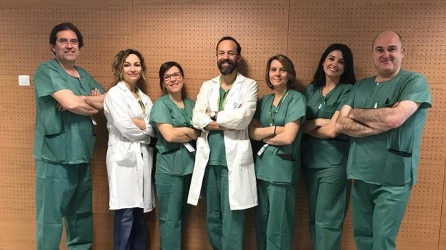 Equipo de la Unidad de Coloproctología del PTS.