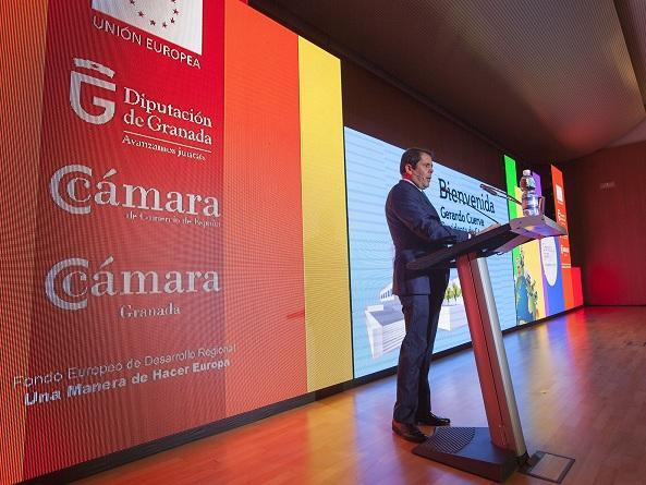 Gerardo Cuerva, en la inauguración de Foro Internacional.