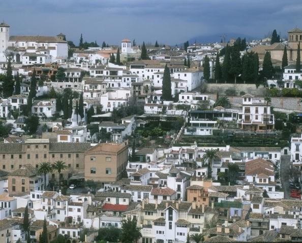 Vista del Albaicín.