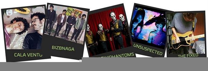 Imágenes de grupos que actuarán en Sierra Nevada.