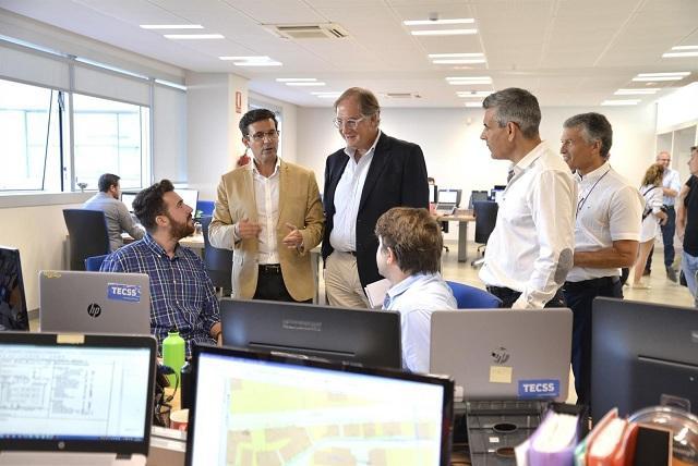 Visita institucional a la sede de Nokia en el PTS.