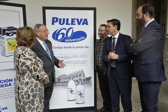 Presentación de la muestra sobre Puleva.
