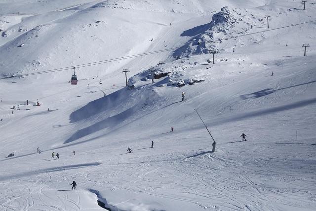 Pistas de esquí en Sierra Nevada.
