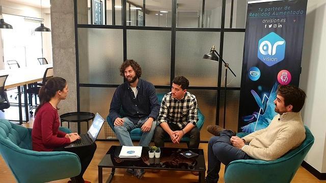 Miembros de la empresa AR Vision.
