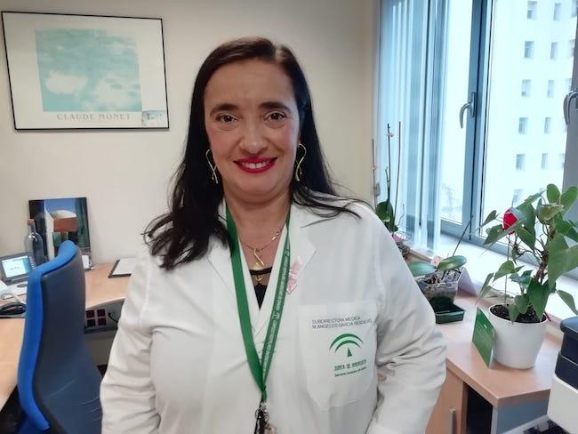 María de los Ángeles García, nueva gerente del Hospital Universitario Virgen de las Nieves.