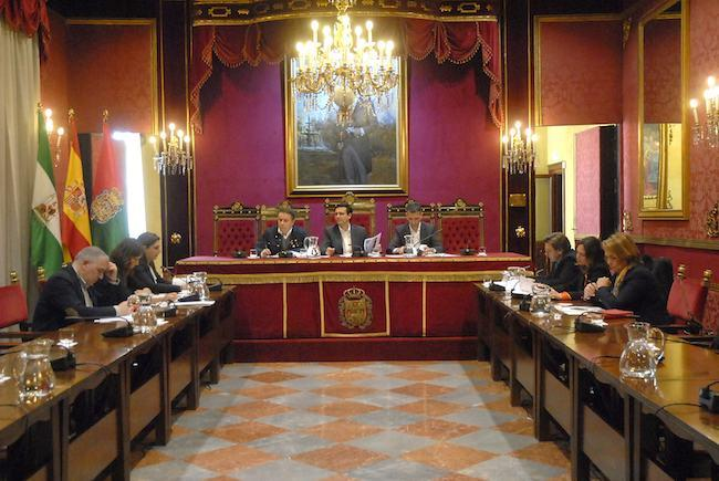 Reunión de la asociación 'Granada Turismo'.