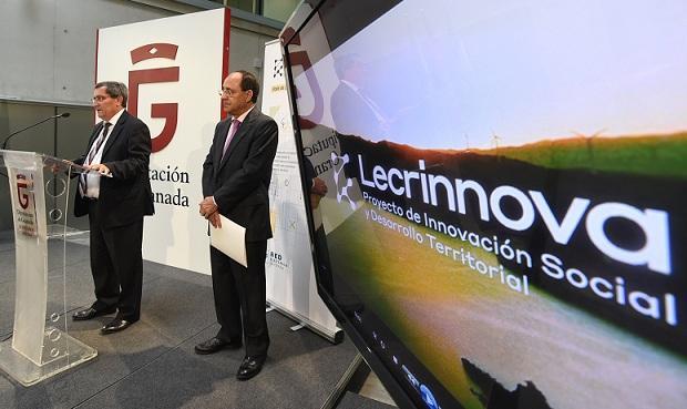 Presentación del proyecto 'Lecrinnova'.
