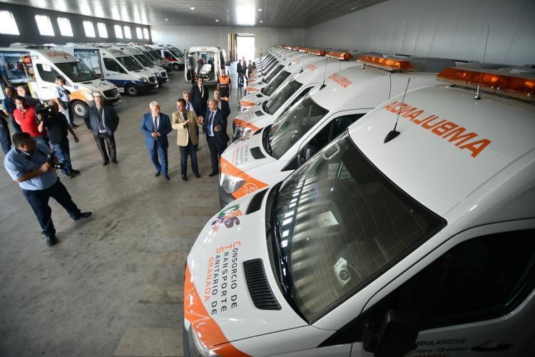 La empresa pertenece al Consorcio de Transporte Sanitario.