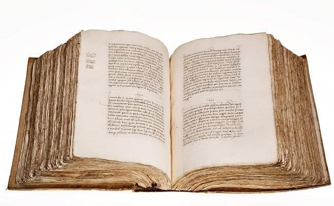 Libro de los Epítomes, de Hernando Colón, que ha sido localizado en Copenhague.
